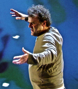 """Pippo Delbono al Piccolo Teatro Strehler con """"Orchidee"""" fino al  17; e dal 18 al 20 al Teatro Studio con lo spettacolo autobiografico """"Racconti di giugno"""" (foto di K. De Villers e M. Brenta)"""