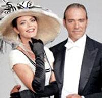 """Milano. Vittoria Belvedere e Luca Ward, al Teatro Nuovo, nel sempre verde musical """"My Fair Lady"""". Riduzione e regia di Massimo Romeo Piparo."""