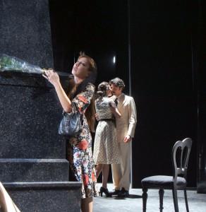 """Milano. Una scena di """"Il bell'Antonio"""", da Vitaliano Brancati, con la regia di Giancarlo Sepe, al Teatro Manzoni"""