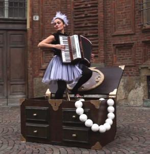 Maria Norina Liccardo, fisarmonicista di S. Maria Capua Vetere