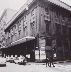 Milano. Un'immagine del Teatro Lirico anni Settanta