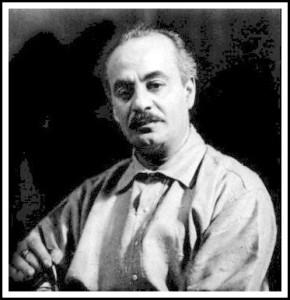 Il poeta, narratore, filosofo e pittore libanese, Kahlil Gibran (1883-1931)