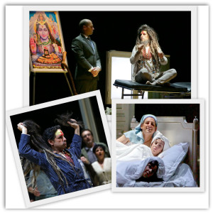 """Alcune scene di """"Le Comte Ory"""", di Rossini, alla Scala, con il tenore peruviano Juan Diego Florez (non in perfetta forma)"""