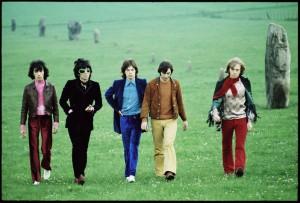 Rolling Stones, Avebury Hill 1968 (© David Bailey)