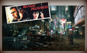 collage blade runner