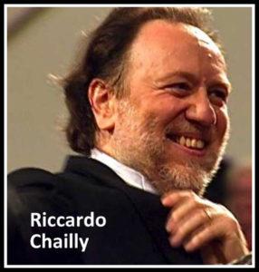 Riccardo Chailly. Sarà ufficialmente dal I gennaio 2017 Direttore musicale della Scala