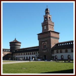 Main-Courtyard-Piazza-dArmi-of-Castello-Sforzesco-Milan