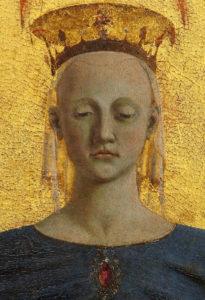 Particolare della Madonna della Misericordia